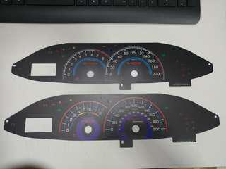 Toyota Vios 2nd Gen NCP93 Meter Card (MANUAL ONLY)