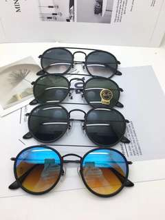 Rayban Sunglasses Round Double rb3647N brand new full packages original made in Italy
