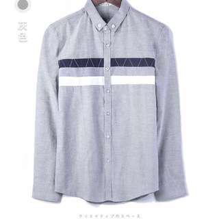 Casual fashionable long sleeve shirt