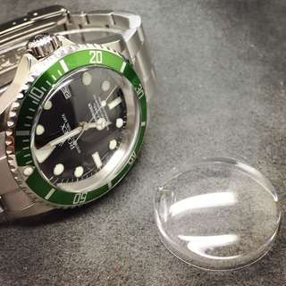 HD High Dome Crystal for Rolex Submariner 16610LV
