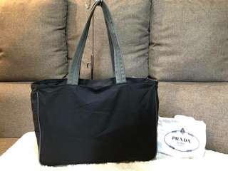 Authentic Prada Vintage Sports Tote With Dustbag