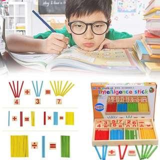 Mathematical Intelligence Stick Educational Baby Toys Kids