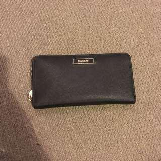 NEGOTIABLE DKNY Zip Up Wallet