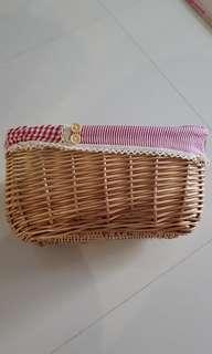 Basket 32cm length  x 15cm depth