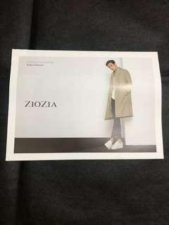 金秀賢Ziozia spring collection 2016