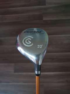 Rare Cleveland Launcher 7 wood 22degrees R flex (nt titleist, Mizuno, Yamaha, taylormade golf)