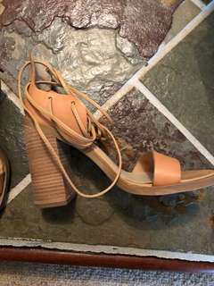 Windsor Smith Tan Heels