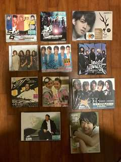 Chinese pop CDs