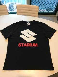 Justin Bieber x HM (Stadium Tour) Black T-Shirt