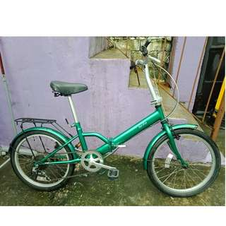 TOP ONE FOLDING BIKE (FREE DELIVERY AND NEGOTIABLE!)