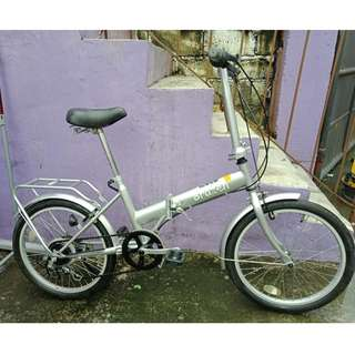 BRAZEN FOLDING BIKE (FREE DELIVERY AND NEGOTIABLE!)