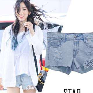 [3 FOR $10] Taeyeon inspired low rise shorts