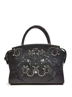 AUTHENTIC GUESS Alessia Embroidered Satchel
