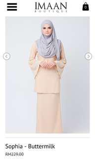 Imaan Boutique Sophia Kurung (inc post)
