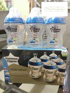 Tommee Tippee 9oz Clear Blue