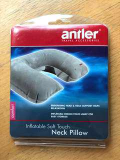 Antler * Inflatable Neck Pillow 旅行吹氣枕頭