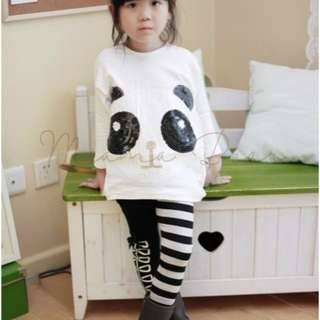 Loveable Panda Long Sleeves