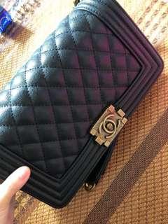 Boy Chanel bag black