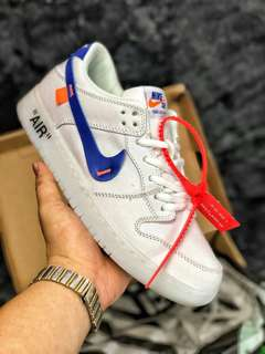 Nike Dunk Low Pro SB Canvas 扣籃低幫街頭板鞋 OW白藍橘帆布 854866-103