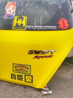 Rear Bonet Belakang Suzuki Swift Sport Japan JDM