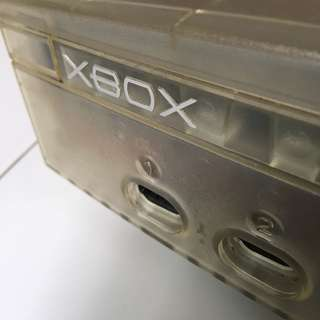 Original Transparent XBOX (not working)