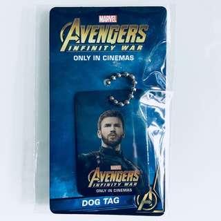Marvel Avengers Infinity War Dog tags - Captain America