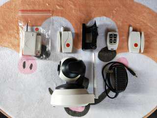 家視保-FHD2 1080P-門窗磁簧防盜感測器-遙控器-高功率門窗磁簧防盜感測器(請內詳)