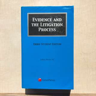 Pinsler / Evidence and the Litigation Process