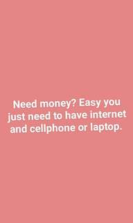 Bored at home and need money?