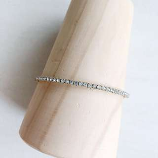 Full Diamanté Bangle