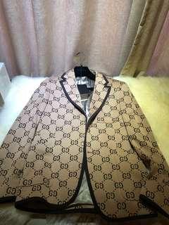 Gucci monogram blazer s