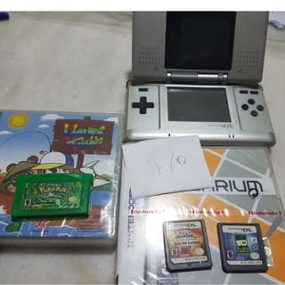 NDS Bundle + Games Pokemon