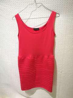 Topshop Bodycon Pink Dress