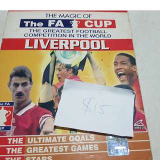 Liverpool FA Cup Magic From Official Store