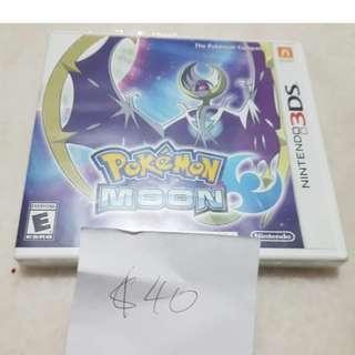 Pokemon Moon 3DS New