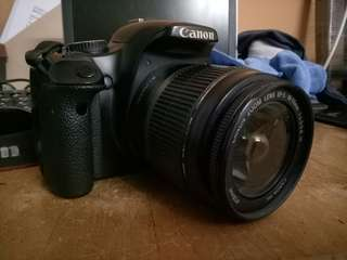 Canon 450D with lens