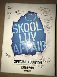 絕版 ❣️ BTS SKOOL LOV AFFAIR CD + 2 DVD