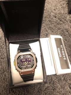 Casio G-shock GMW-B5000-1 日版 全新 full set