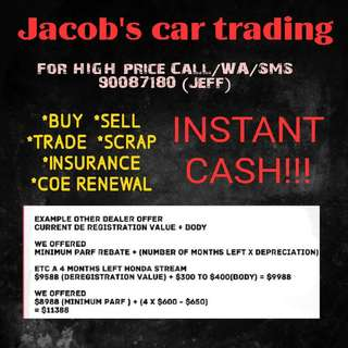 Jacobs car trading