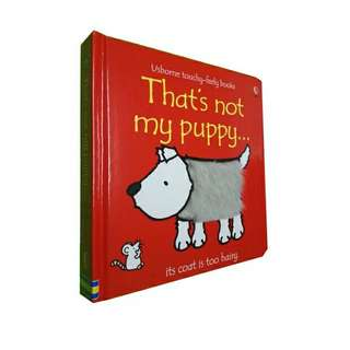 That's Not My Puppy - Usborne Touchy-Feely Book