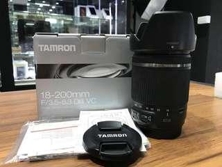🚚 曙光數位 TAMRON 18-200mm Dill VC 保固內 for Canon