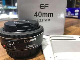 🚚 曙光數位 Canon 40mm F2.8 STM