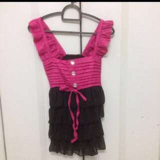 Sweet party top