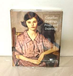 BNIP Coffee Table Book - Canadian Paintings, Prints and Drawings by Anne Newlands (Hardcover)