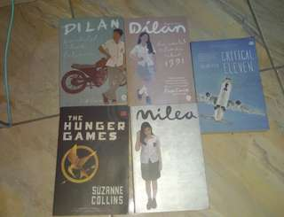 Take All Novel Dilan, The Hunger Games, Critical Eleven.