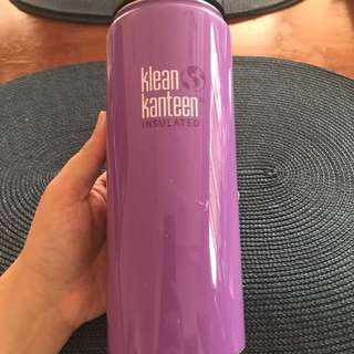 SALE! Klean Kanteen insulated bottle with free new insulated bag