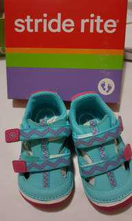 Stride Rite SM Michaela Turquoise / Pink Shoes