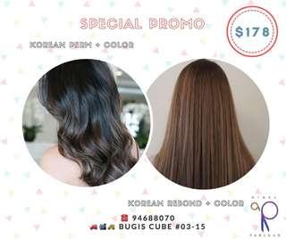 #Korean hair color #korean hair perm#korean treatment
