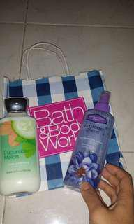 BUNDLE SALE!BATH AND BODY WORKS
