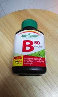 加拿大 Jamieson 維他命 B 雜片